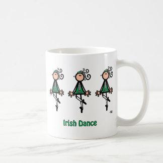 IRISH DANCE CLASSIC WHITE COFFEE MUG