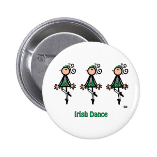 Irish Dance Pinback Button