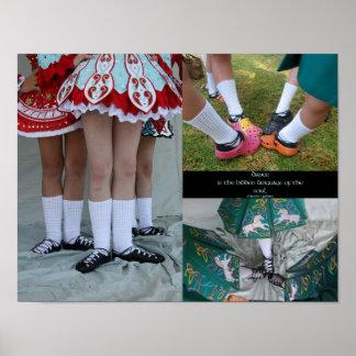 Irish Dance Soft Shoes Poster