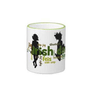 Irish Dance Wordle Ringer Coffee Mug