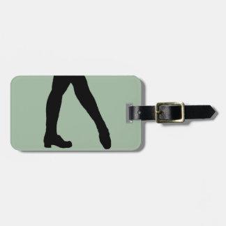 Irish Dancer Bag Tag