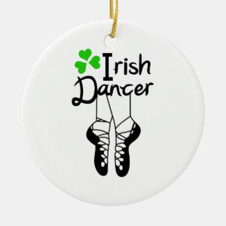 Irish Dancer Ceramic Ornament
