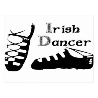 Irish Dancer Ghillies Postcard
