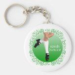 Irish Dancer Hard Shoe Key Chain