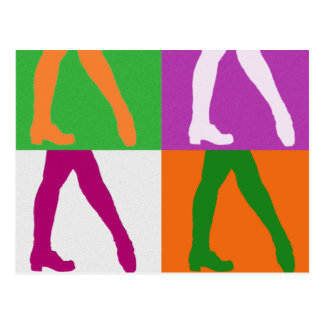 Irish Dancer Postcard