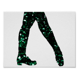 Irish Dancer Poster