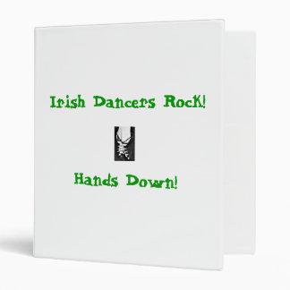 Irish Dancers Rock Binder