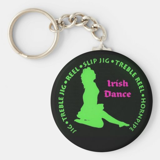 Irish Dances Keychain