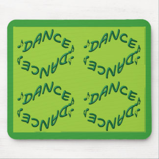 Irish dancing mouse pad