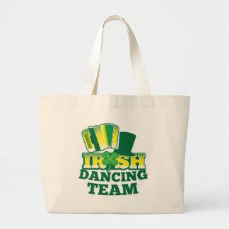 Irish Dancing TEAM Large Tote Bag