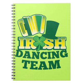 Irish Dancing TEAM Notebook