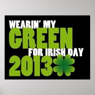 Irish Day 2013 Poster