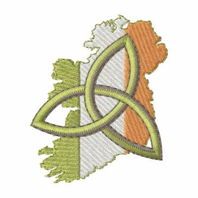 Irish Design Embroidered Polo Shirt