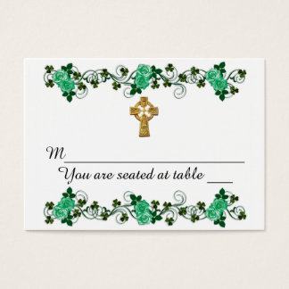 Irish design for wedding Place cards
