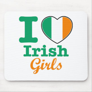 Irish design mouse pad