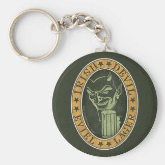 Irish Devil Eviel Lager Keychain