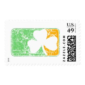 Irish Distressed Stamp
