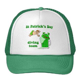 Irish diving team hat