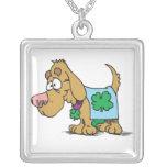 Irish Dog Necklace