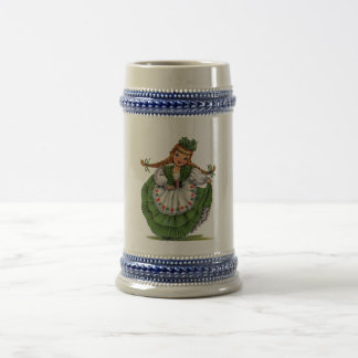 Irish Doll Beer Stein