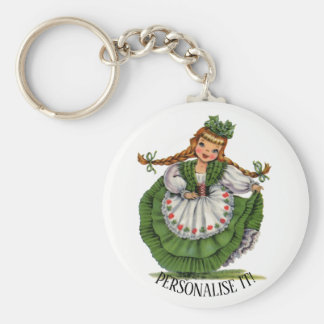 Irish Doll Keychain