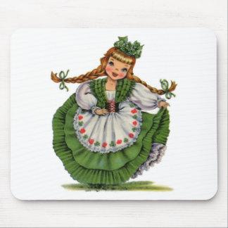 Irish Doll Mouse Pad