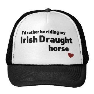 Irish Draught horse Trucker Hat
