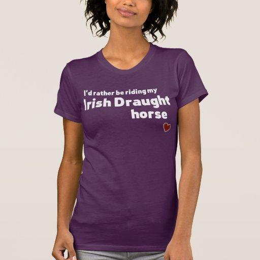 Irish Draught horse T-shirts