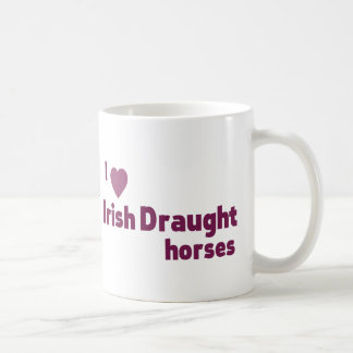 Irish Draught horses Coffee Mug
