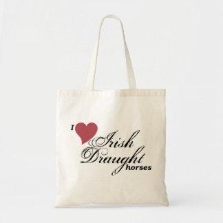 Irish Draught horses Tote Bag
