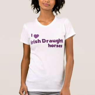 Irish Draught horses Tshirt
