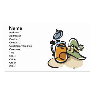 Irish Drink Business Card Template