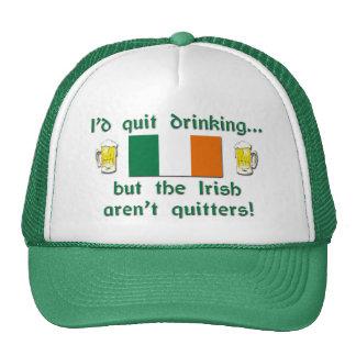 Irish Drinkers Aren't Quitters Trucker Hat