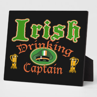 Irish Drinking Captain Plaques
