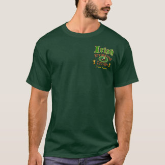 Irish Drinking Cptn Custom T-Shirt