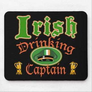 Irish Drinking Cptn Mousepad