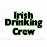 Irish Drinking Crew Post Cards