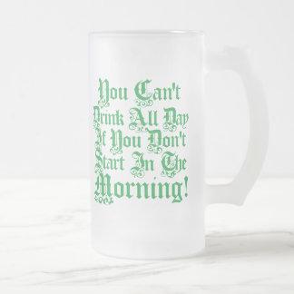 Irish Drinking Humor Beer Stein Coffee Mug
