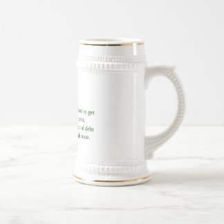Irish Drinking Saying 2 - Stein/Mug
