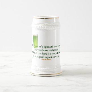 Irish Drinking Saying 2 - Stein/Mug 18 Oz Beer Stein