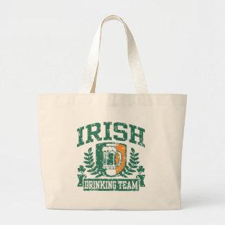 Irish Drinking Team Canvas Bags