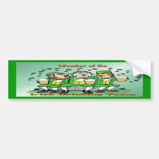Irish Drinking Team Car Bumper Sticker