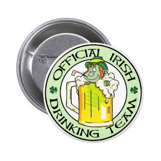 Irish Drinking Team 2 Inch Round Button