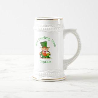 Irish Drinking Team ~ Captain Beer Stein