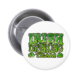 Irish Drinking Team Distressed Button
