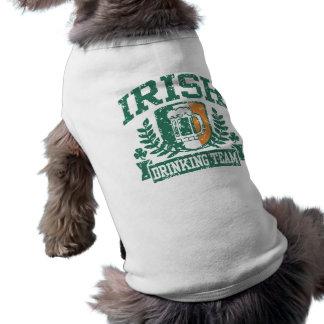 Irish Drinking Team Dog Clothes