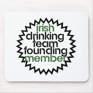 Irish Drinking Team Founding Member Mouse Pad