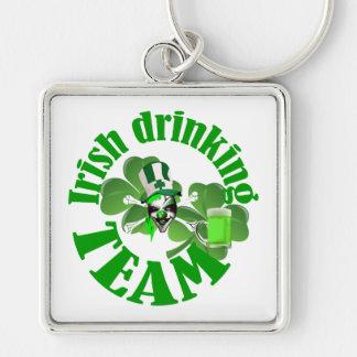 Irish drinking team key chain