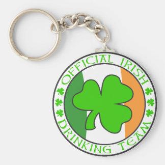 Irish Drinking Team Keychain