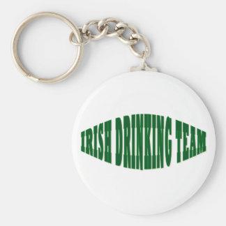 Irish Drinking Team Basic Round Button Keychain